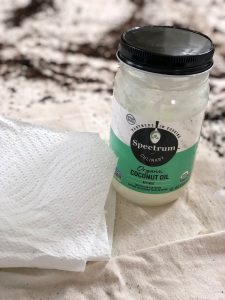 coconut oil for cleaning fiddle leaf figs