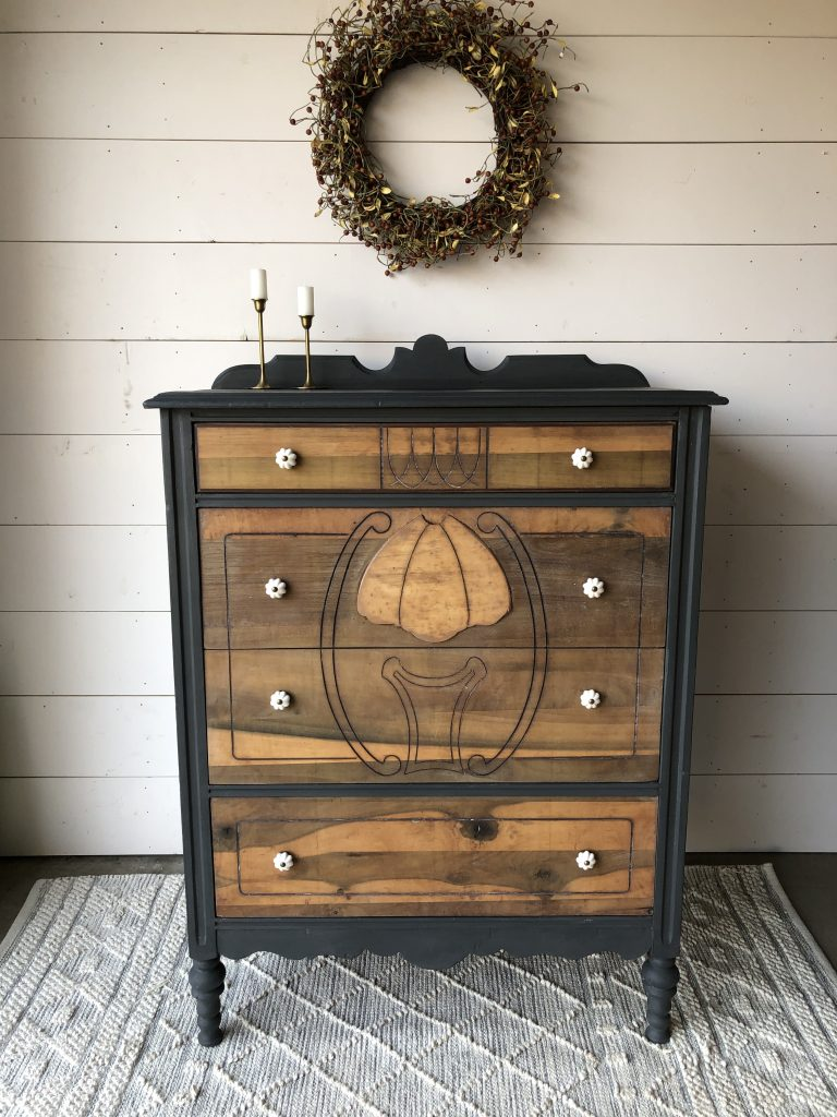 Antique dresser restoration